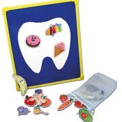 Tooth Friendly Snacks Magnetic Board